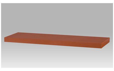 Nástěnná polička PP-005 TR, 80cm, barva třešeň