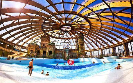 Budapešť, Aquaworld Resort**** s polopenzí, wellness a přímým vstupem do aquaparku