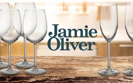 Sklenice na víno či šampaňské od Jamieho Olivera