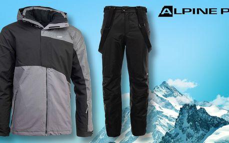 Pánská lyžařská bunda a kalhoty Alpine Pro