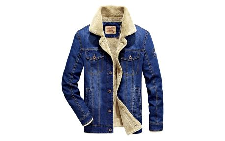 Pánská zateplená džínová bunda Darryl