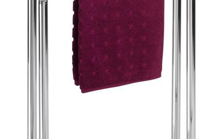 Koupelnový stojanový věšák na ručníky LISBOA - 2 ramenný, WENKO