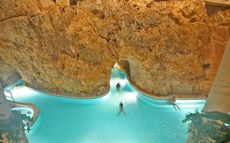 Tapolca, Hunguest Hotel Pelion s léčebnou jeskyní, wellness zónou a po