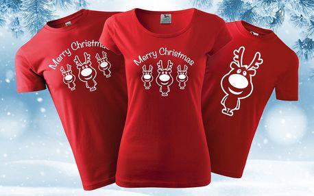 Dámská, pánská i dětská trička se soby