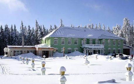 Zima pro dva v Hotelu Berghof v Krušných horách poblíž Klínovce