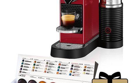 Krups Nespresso Citiz&Milk XN760510 červené