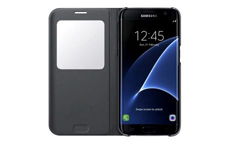 Samsung S-View pro Galaxy S7 Edge (EF-CG935P) černé (EF-CG935PBEGWW)