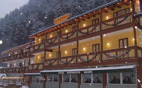 Itálie - Val di Fiemme/Obereggen na 7 dní, polopenze s dopravou vlastní