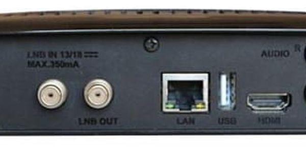 Satelitní přijímač GoSat GS7075 COMBOi HD černý (GS7075)4