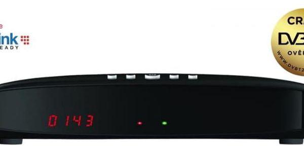 Satelitní přijímač GoSat GS7075 COMBOi HD černý (GS7075)5