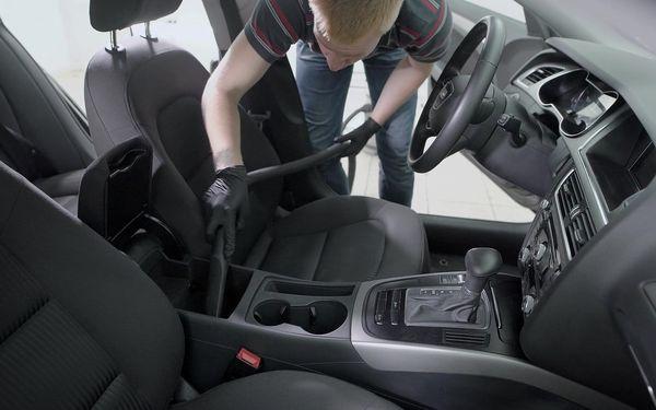 Péče o interiér vozidla – výběr ze 3 programů