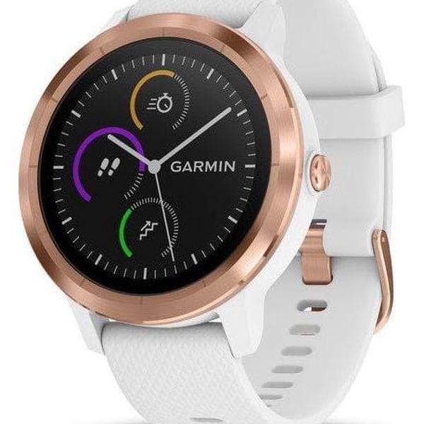 Chytré hodinky Garmin vívoActive3 Optic bílé/zlaté (010-01769-07)2