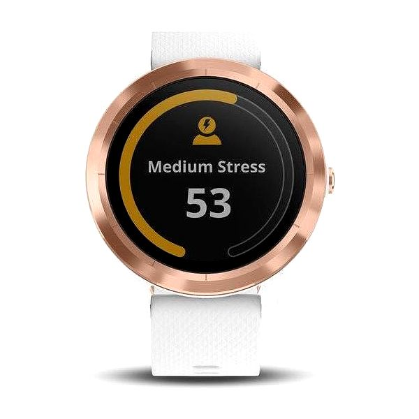 Chytré hodinky Garmin vívoActive3 Optic bílé/zlaté (010-01769-07)4