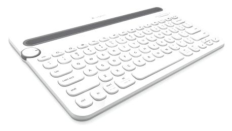 Logitech Bluetooth Keyboard K480 US bílá (920-006367)