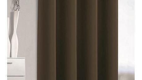 Albani Zatemňovací závěs Mia kávová, 140 x 245 cm