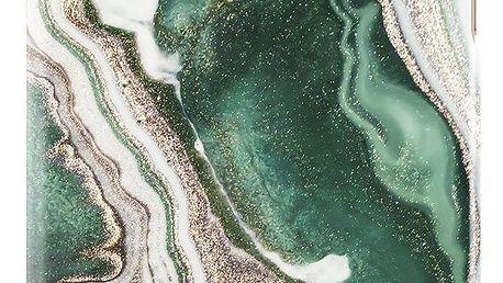 iDeal of Sweden Kryt na iPhone 6/6s/7/8 PLUS Golden Jade Marble, zelená barva, zlatá barva, plast