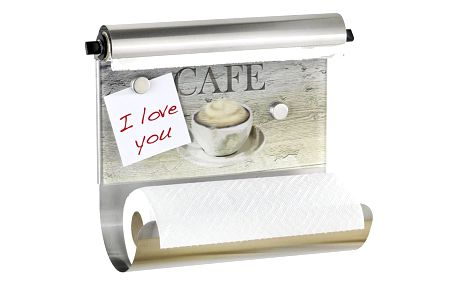 Úchyt na papírové kuchyňské ručníky CAFE BISTRO 3 v 1, WENKO