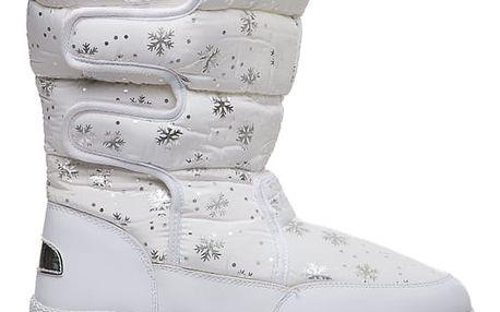Dámské bílé sněhule Hayden 013