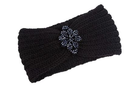 Dámská pletená čelenka - 6 barev