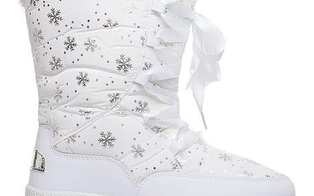 Dámské bílé sněhule Chloe 014