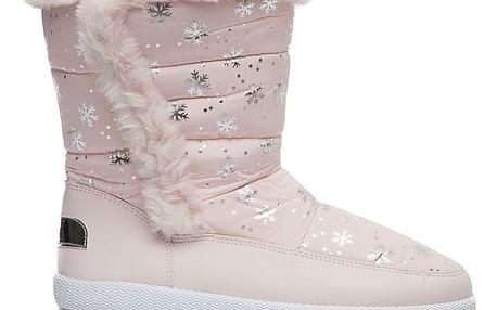 Dámské růžové sněhule Evelyn 015