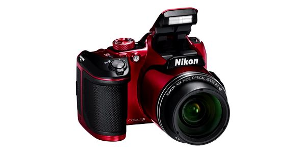 Digitální fotoaparát Nikon Coolpix B500 červený4