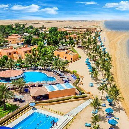 Spojené arabské emiráty - Ras Al Khaimah na 6 až 8 dní, all inclusive s dopravou letecky z Prahy přímo na pláži