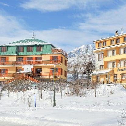 Vysoké Tatry u ski areálů se saunou a vínem