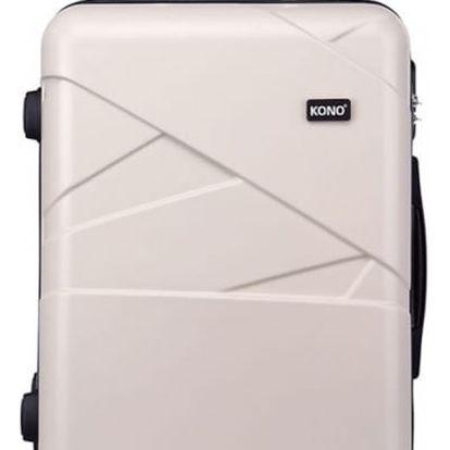 Dámský střední béžový kufr Rotta 1772L