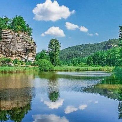 Máchovo jezero s vínem a relaxační masáží