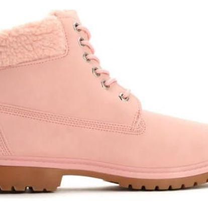 Dámské růžové kotníkové boty Danah 801