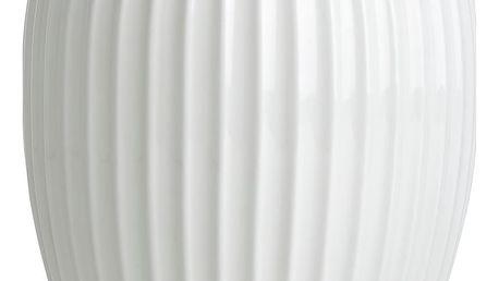 KÄHLER Keramická váza Hammershøi White Medium, bílá barva, keramika