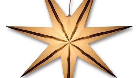  Svítící hvězda - zlaté proužky   18000329
