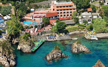 Itálie - Ischia na 8 dní, snídaně s dopravou letecky z Prahy 250 m od pláže