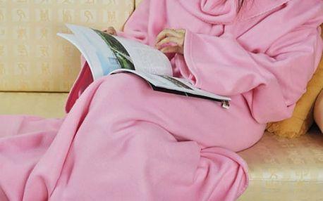 Teplá deka s rukávy - 4 barvy