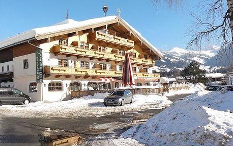 Rakousko - Kitzbühel / Mittersill na 8 dní, polopenze s dopravou vlastní