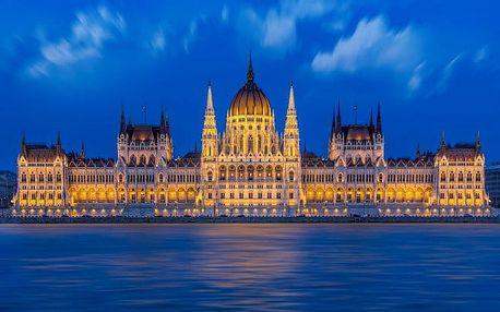 Budapešť v elegantním hotelu v centru města