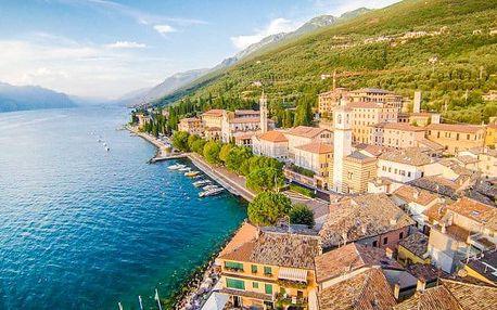 Lago di Garda v historickém hotelu u pláže
