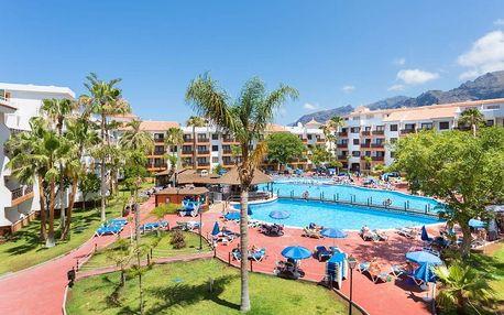 Kanárské ostrovy - Tenerife na 6 až 15 dní, all inclusive nebo bez stravy s dopravou letecky z Budapeště nebo Vídně 200 m od pláže
