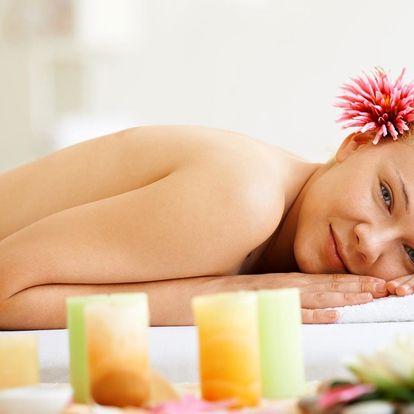 Aromaterapeutická masáž v délce 50 minut