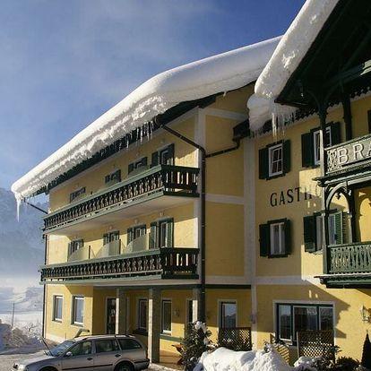 Lyžování Rakousko, Solná komora - Gasthof Brandwirt, Gosau