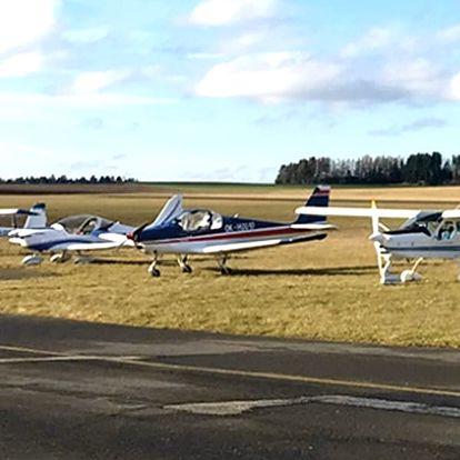 Pilotem na zkoušku - poznejte svět z ptačí perspektivy a užijte si vyhlídkový let.