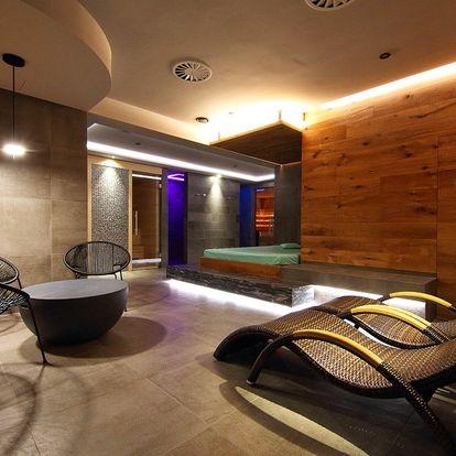 2 hodiny luxusní relaxace v privátním wellness