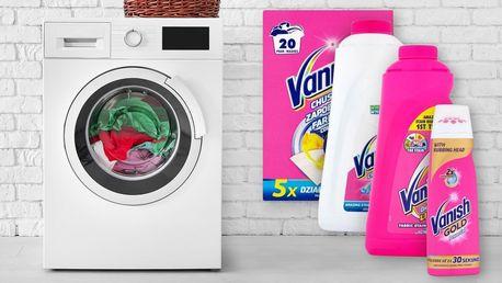 Vanish: balíček přípravků na odstranění skvrn