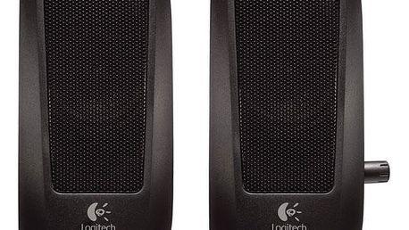 Logitech S-120 2.0 černá (980-000010)