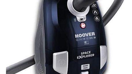 Hoover Space Explorer SL40PET 011 modrý