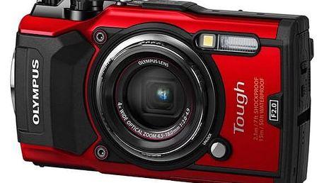 Olympus TG-5 červený (4545350051112)