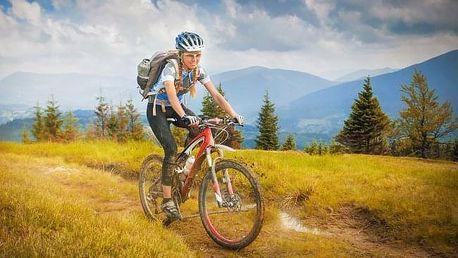 Krušné hory nejen pro cyklisty v Hotelu Boží Dar - Excalibur *** s polopenzí