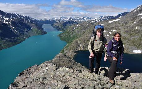 Norské hory - 17 dní turistiky s dopravou, ubytováním v kempu a polopenzí