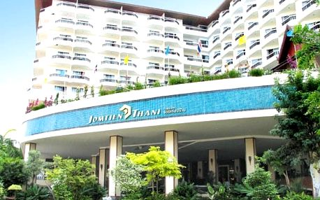 Thajsko - Pattaya na 10 dní, snídaně s dopravou letecky z Prahy 500 m od pláže